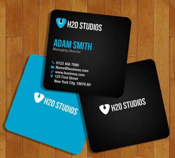 75 free business card templates that are stunning beautiful 73 square business card template reheart Image collections