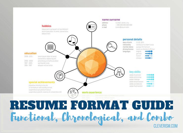 resume format chronological