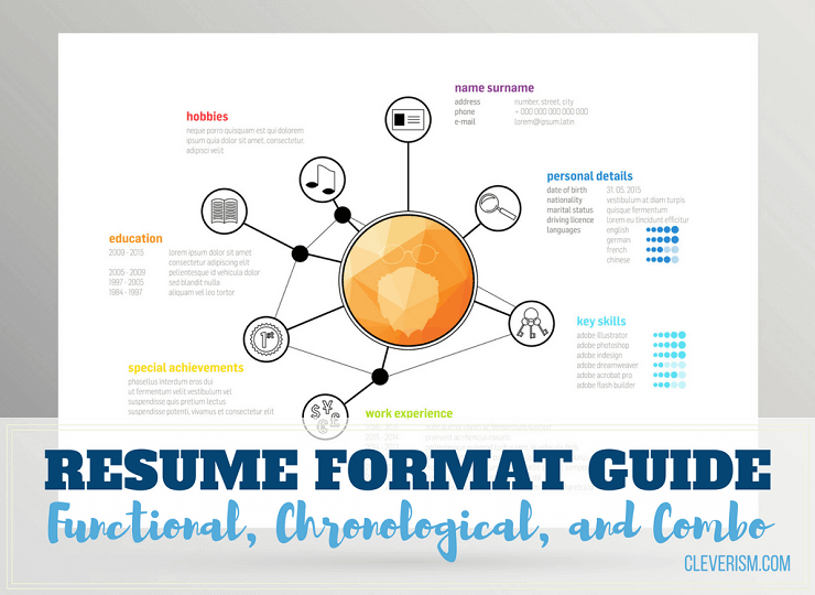 resume format guide functional chronological and combo