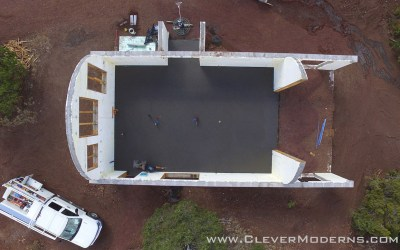 Quonset Hut House Build: Radiant Heated Floor Slab