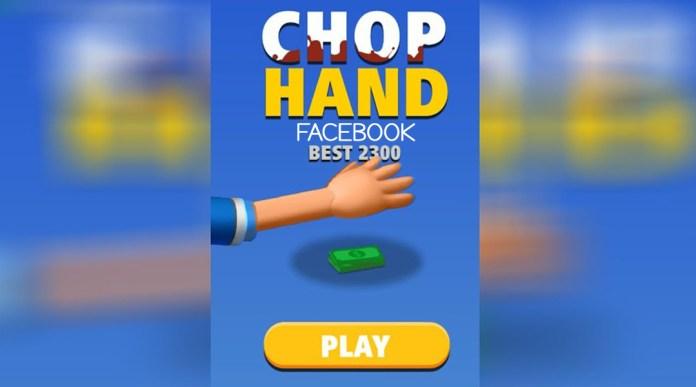 Facebook Chop Hand