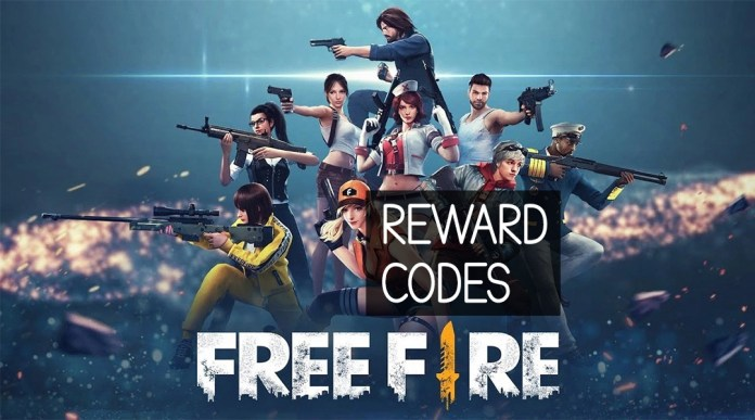 Fire Free Reward Codes from April 14