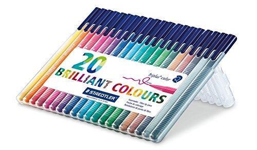 Staedtler Triplus Color Fiber Tip Pens