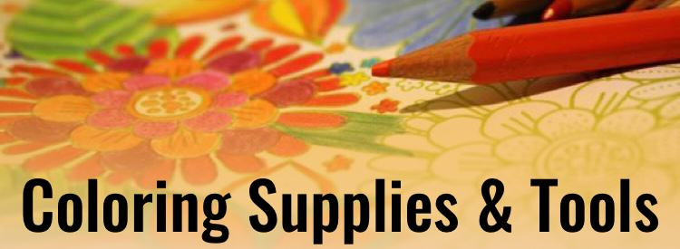 Coloring Book Supplies