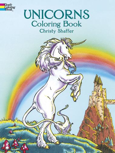 Unicorns Coloring Book (Dover Coloring Books)