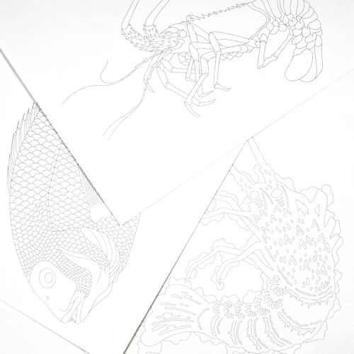 Japanese Designs: Artists' Coloring Book