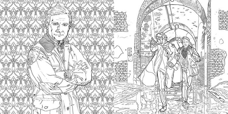 The Sherlock Coloring Book: The Mind Palace