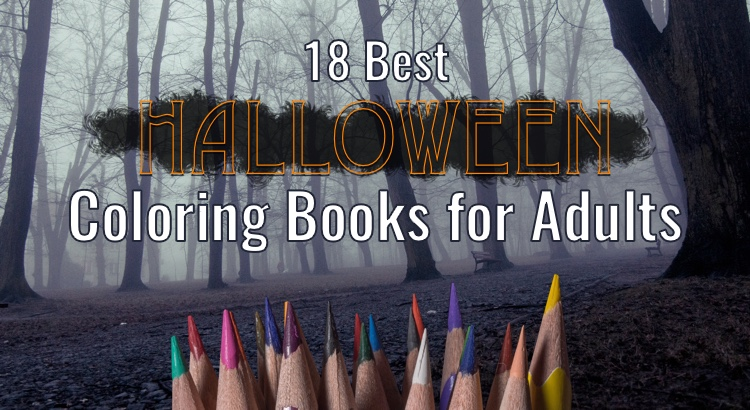 18 Best Halloween Coloring Books for Adults
