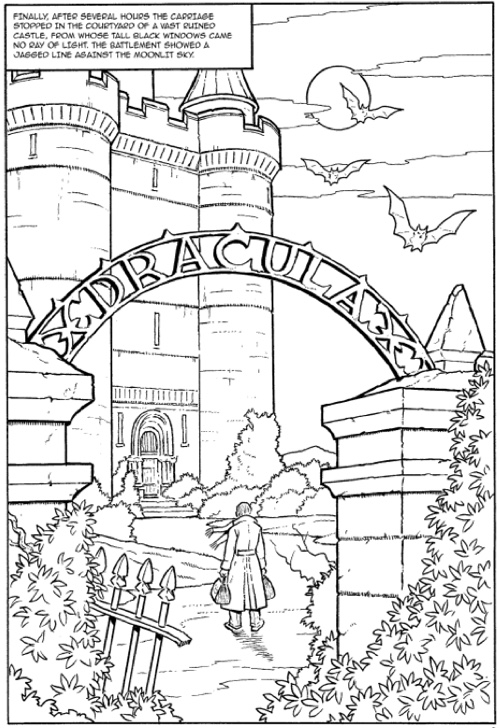 graphical coloring pages - photo#4