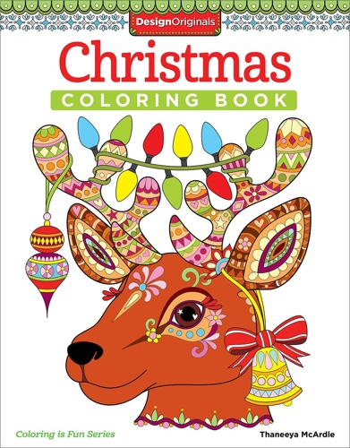 Design Originals: Christmas Coloring Book (Coloring Is Fun)
