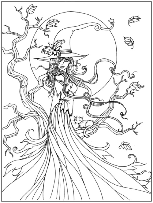 Halloween Coloring Book By Molly Harrison