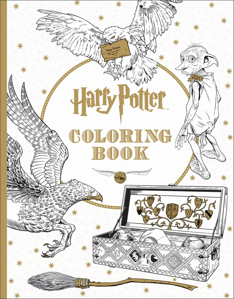 the official harry potter coloring book 1