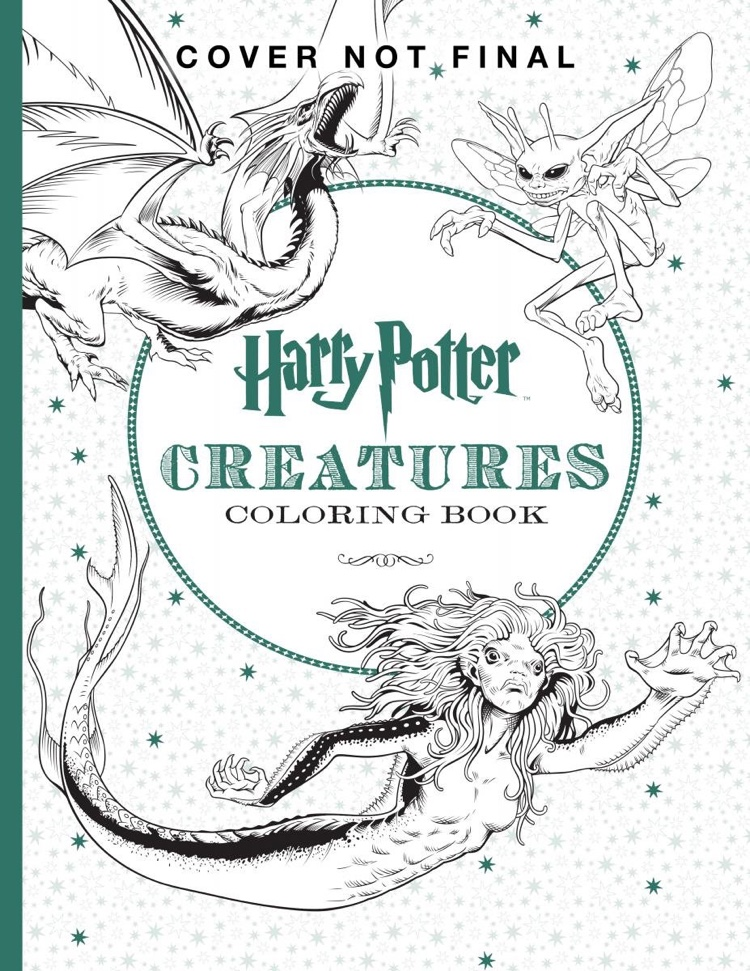Check Out The Official Harry Potter Coloring Books
