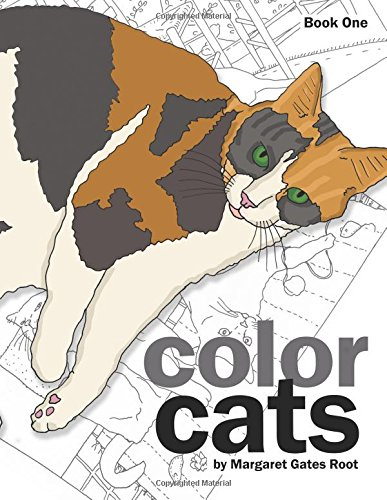 Cats 50 Coloring Pages For Adults Relaxation Vol.1
