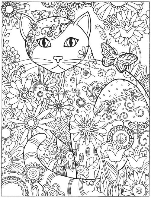 Cat Coloring Book