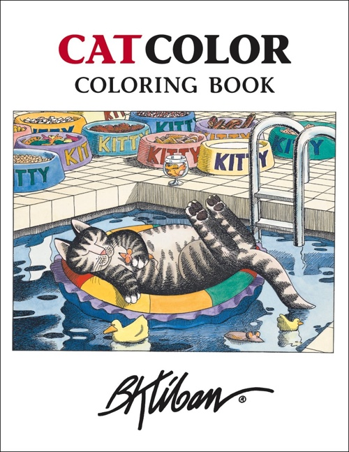 Kliban CatColor Coloring Book