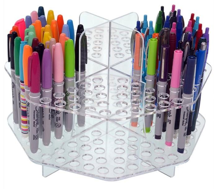 Clear Colored Pencil Organizer