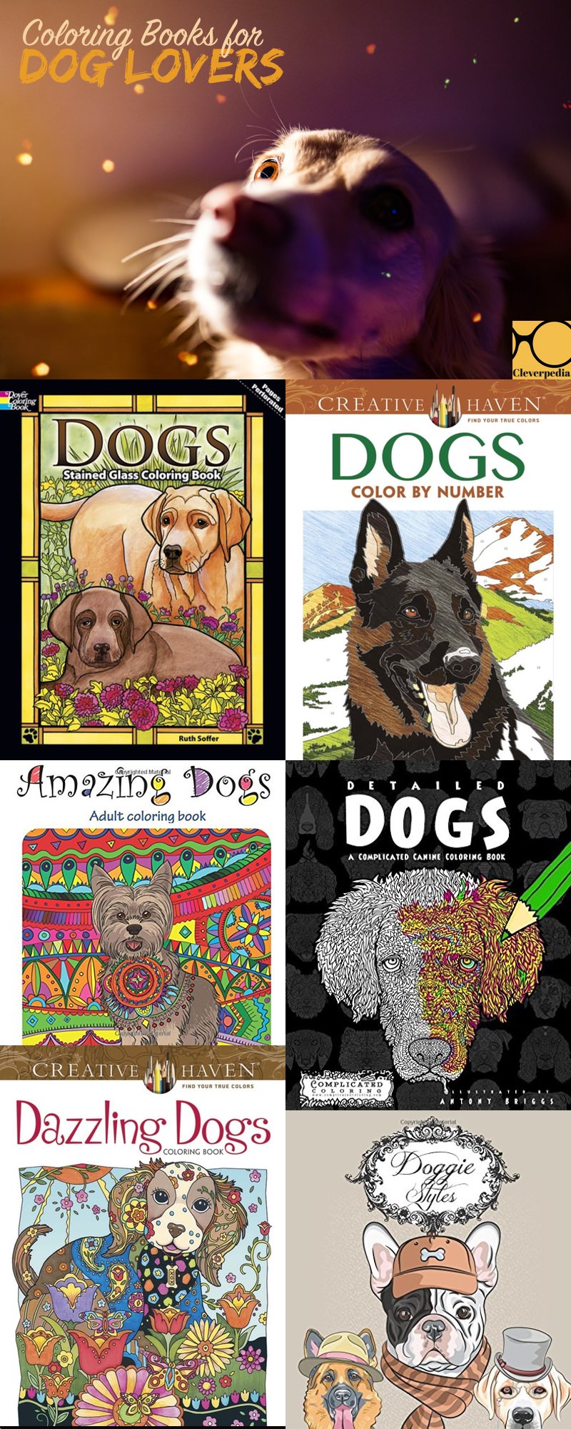 Love These Dog Coloring Books