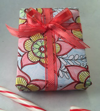 Crafty Ways to Use Your Coloring Pages: Wrapping Paper