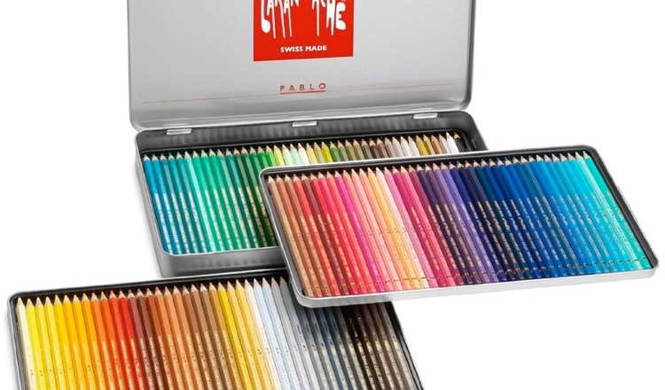 Caran D'Ache Pablo Colored Pencils in 120 colors