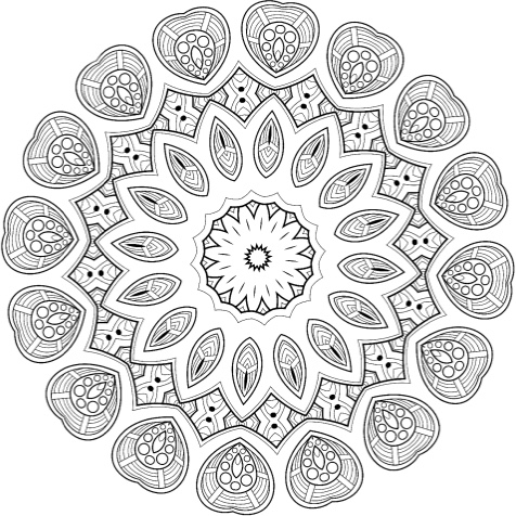 Coloring To Calm Volume One Mandalas