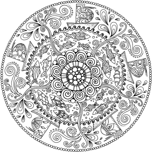adult coloring book designs - Pattern Coloring Books
