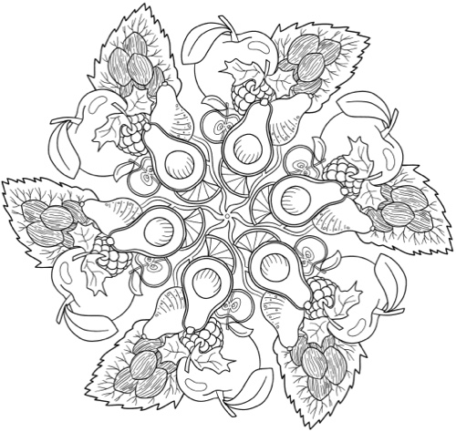 The Artful Mandala Coloring Book Coloring Pages