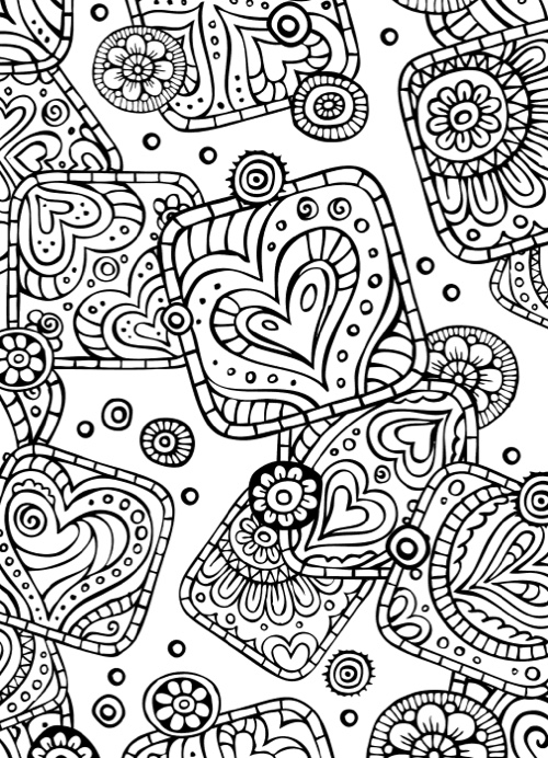 Best Valentine's Day Coloring Books for Adults - Cleverpedia
