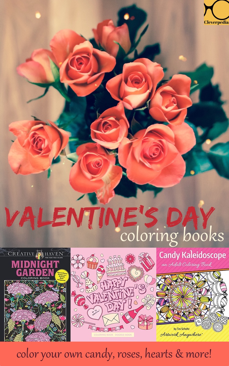 Love these Valentine's Day coloring books!