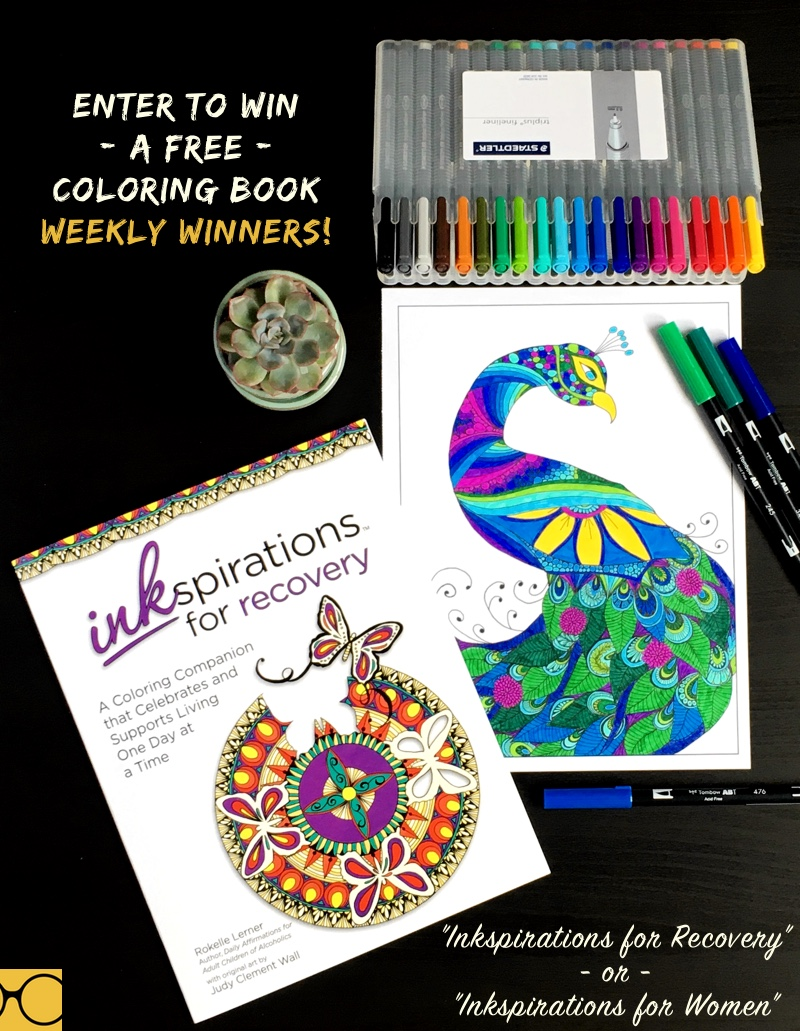 Enter To Win A Free Coloring Book By Inkspirations Weekly Winners