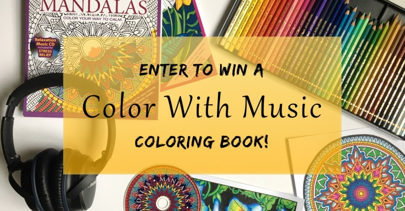 Enter to win a free Color With Music coloring book! TWENTY CHANCES TO WIN!!