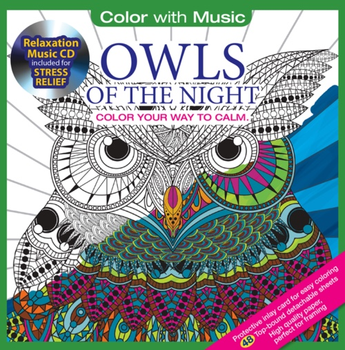 Color With Music: Owls Of The Night
