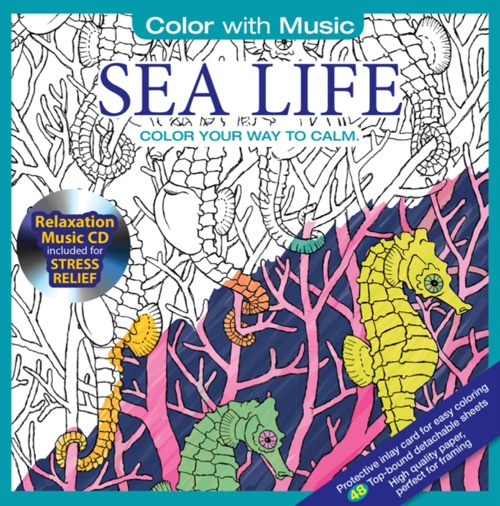 Color With Music: Sea Life