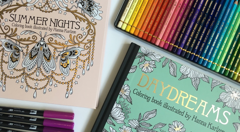 Gorgeous Coloring Books By Swedish Artist Hanna Karlzon Now Available In The US