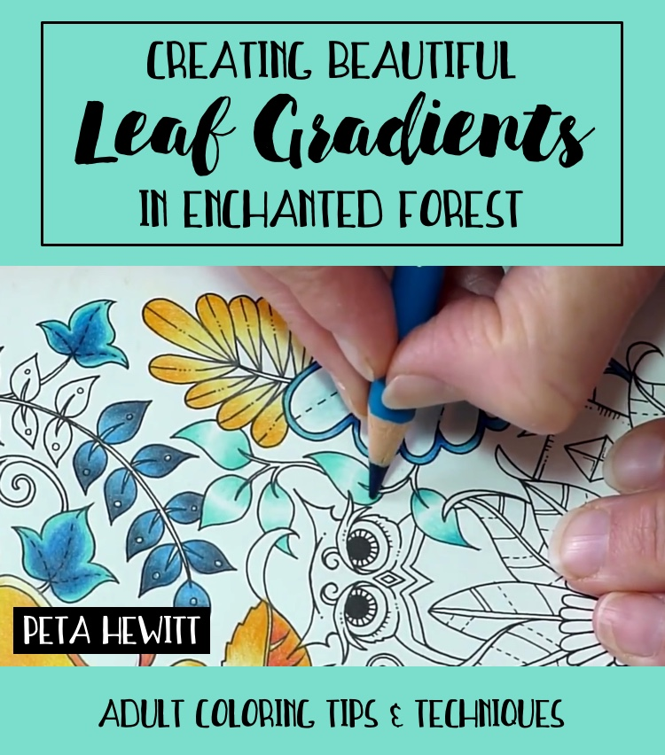 Creating Beautiful Gradient Leaves In Enchanted Forest