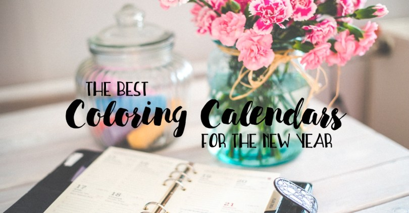 The Best Coloring Calendars for the New Year