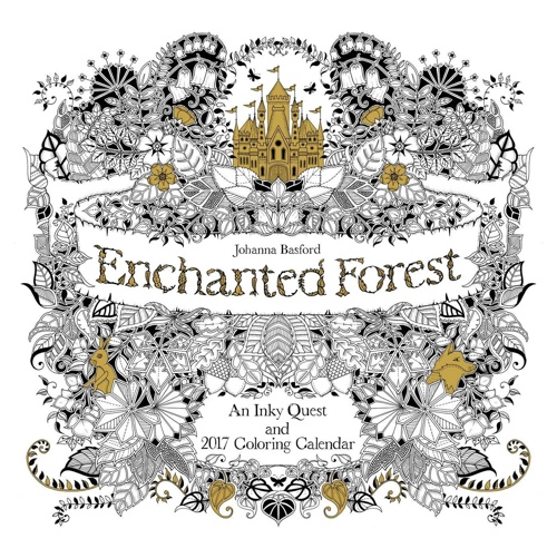 Enchanted Forest 2017 Wall Calendar