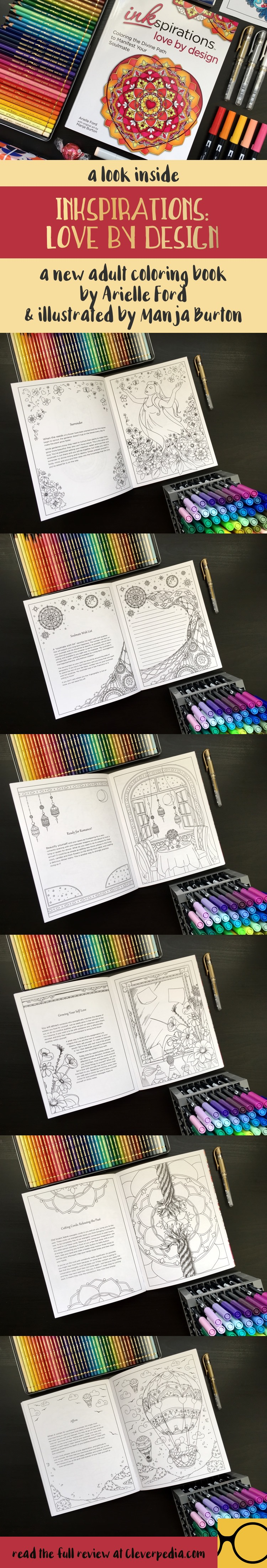A look inside Inkspirations: Love by Design, a new coloring book to help you find your soulmate.