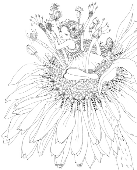 Color Me Enchanted A Coloring Book Of Fairy Tales From Around The World