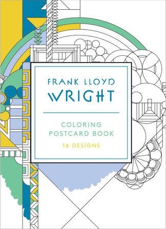 Frank Lloyd Wright Coloring Postcards