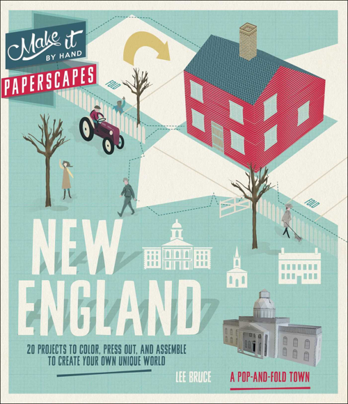 Paperscapes New England (Make It By Hand)