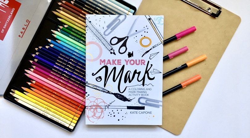 Make Your Mark Coloring Book Review Giveaway