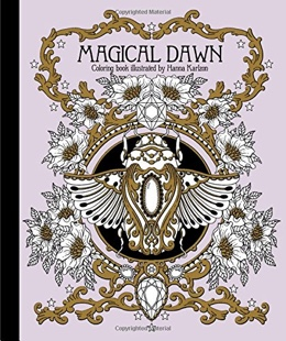 Featured new coloring book release: Magical Dawn