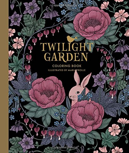 Twilight Garden Coloring Book (Published in Sweden as