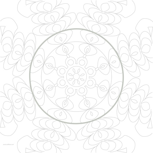 Free abstract adult coloring book page courtesy of Cleverpedia and Zelibar Art! Free coloring pages are the best way to get a feel for a book before you commit to buying it.