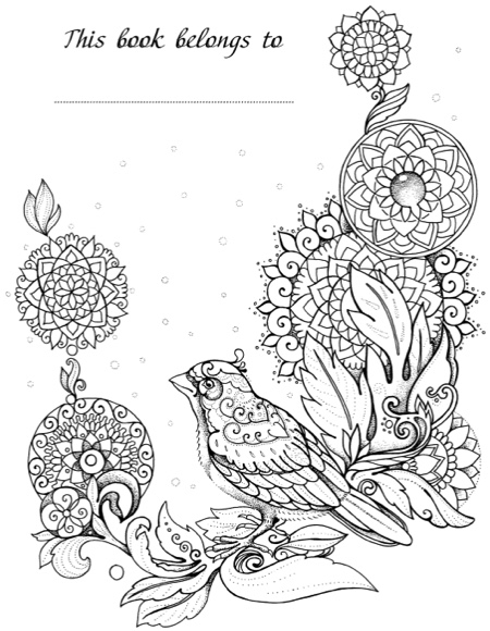 Magic Beauty: Coloring Book for Adults