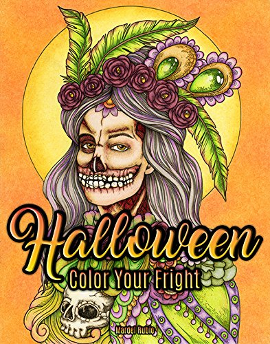 Halloween: Color Your Fright - Artist Edition Adult Coloring Book