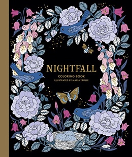 Featured new coloring book release: Nightfall by Maria Trolle