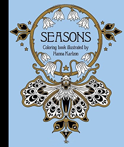 Seasons Coloring Book (Published in Sweden as Tidevarv)