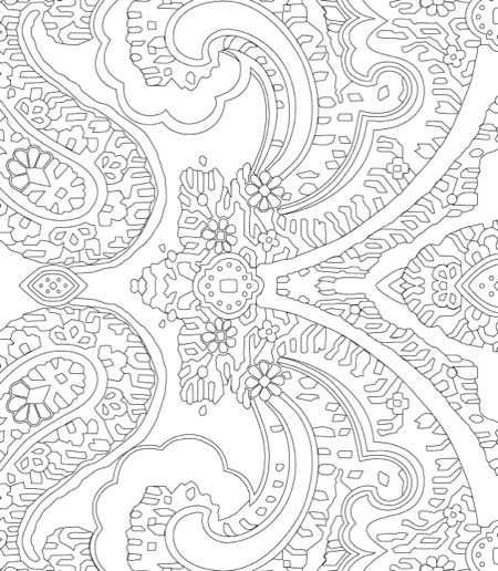 Vera Bradley Enjoy The Journey Coloring Book Pattern Portfolio